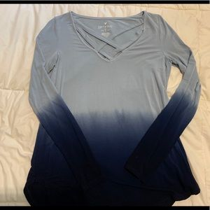 American Eagle Soft & Sexy Long-Sleeved Shirt